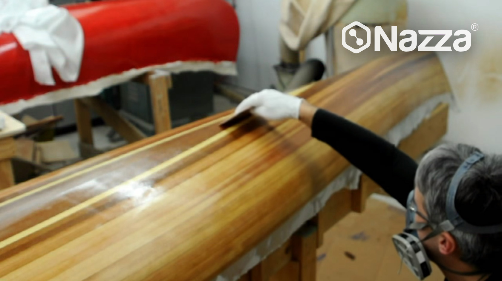 Resina reparación de embarcaciones y canoas
